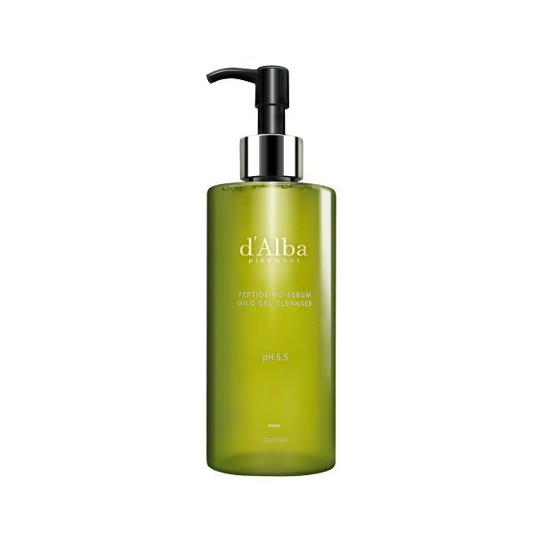 Почистващ гел за лице D'Alba Peptide No-Sebum Mild Gel Cleanser