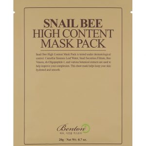 Benton Snail Bee High Content Mask Pack - 10 бр.