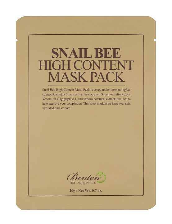 Benton Snail Bee High Content Mask Pack - 10 бр.