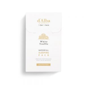 d'Alba White Truffle Waterful Sleeping Pack 4ML*12