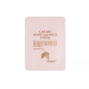 Benton Cacao Moist and Mild Toner Sample 10pcs