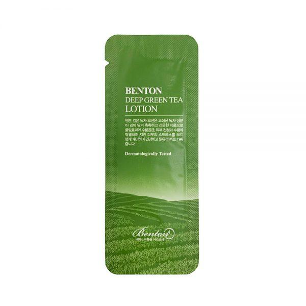 Benton Deep Green Tea Lotion Sample 10pcs