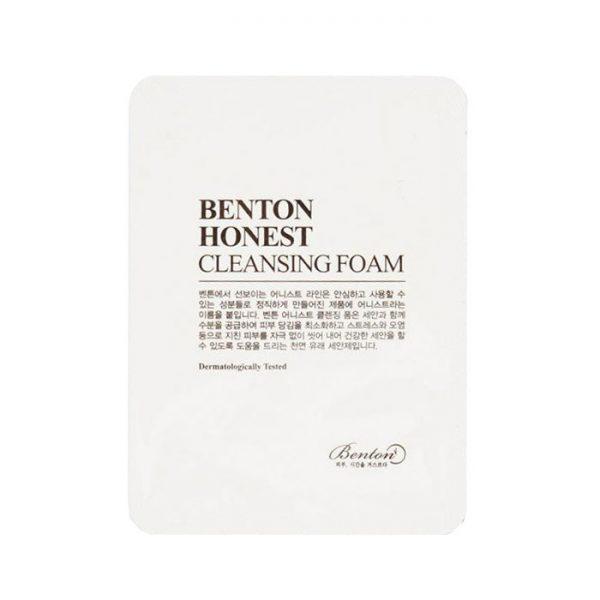 Benton Honest Cleansing Foam Sample10pcs