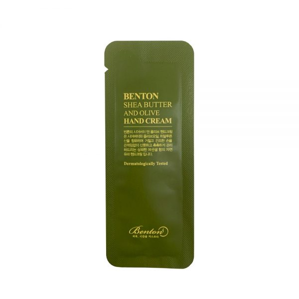 Benton Shea Butter And Olive Hand Cream Sample 10pcs
