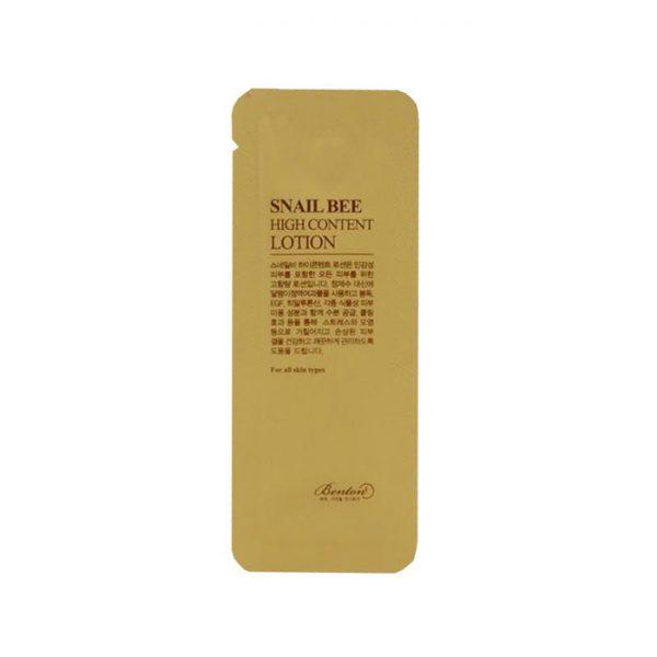 Benton Snail Bee High Content Lotion 10pcs