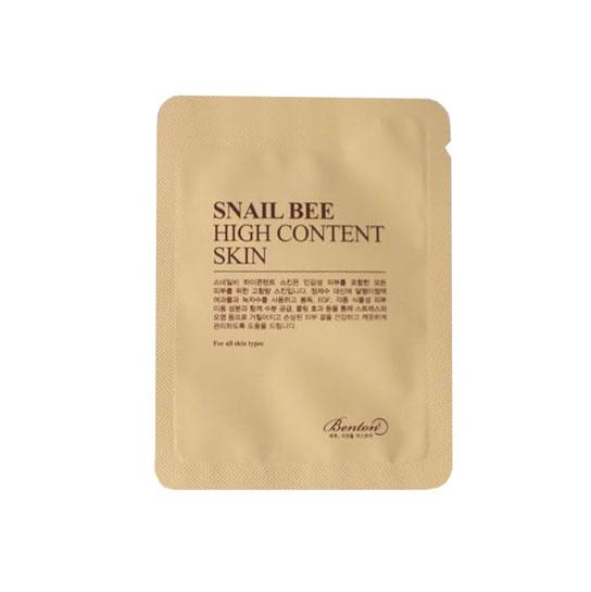 Benton Snail Bee High Content Skin Sample 10pcs