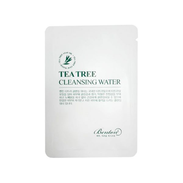 Benton Tea Tree Cleansing Water Sample 10pcs