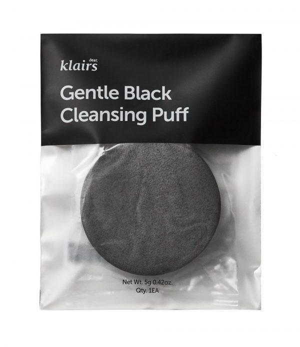 Гъба за почистване на лице Klairs Gentle Black Cleansing Puff